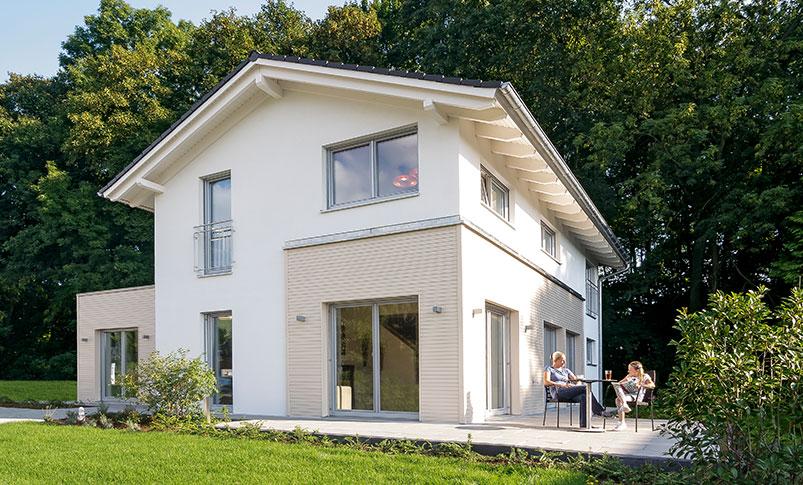 Haas MH Bad Vilbel J 142: Musterhaus ▷ Haas Fertighaus