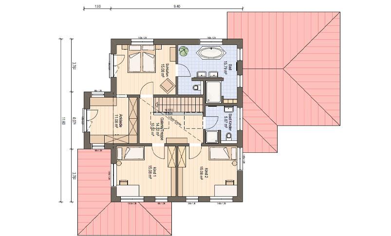 Haas Mh Poing 187 Musterhaus Haas Fertighaus