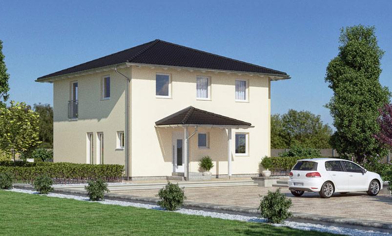 Haas O 129 A Einfamilienhaus Im Toskana Stil Haas Fertighaus