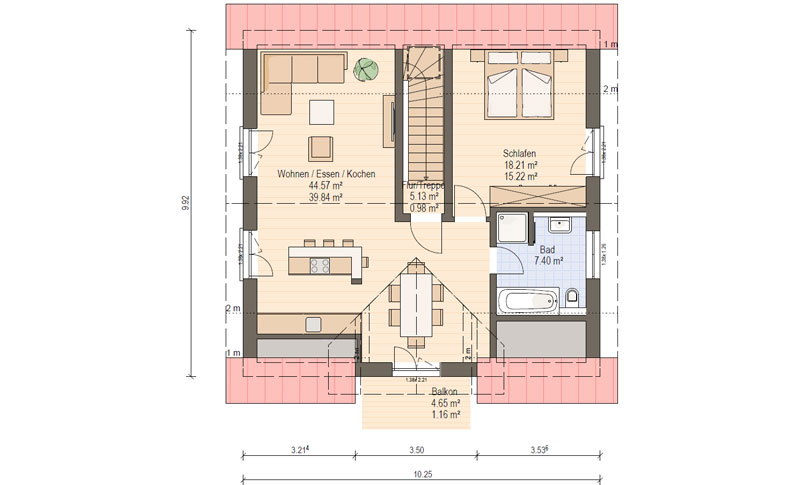 haas    kompaktes zweifamilienhaus haas fertighaus